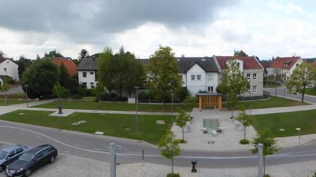 Anfangs fanden die Treffen der Jugendlichen auf dem Dorfplatz in Westendorf statt.