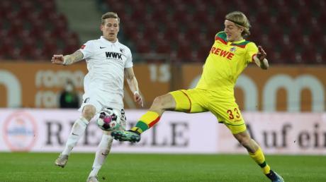Nach der Niederlage gegen Köln nun mitten drin im Abstiegskampf: Andre Hahn (links) und der FCA.