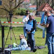 """Die Eltern-Initiative Donau-Ries veranstaltete die Versammlung am Oettinger Schießwasen. Sie trug den Namen """"Bürger-Dialog""""."""
