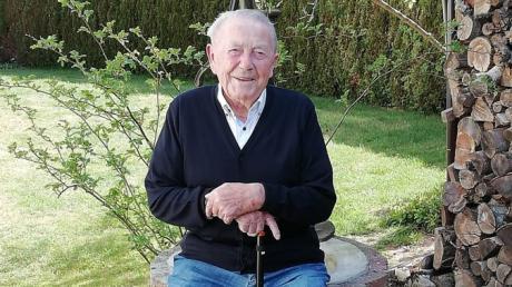 Georg Hirsch aus Aufheim feiert am 27. April seinen 101. Geburtstag.