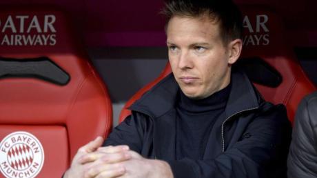 Sitzt demnächst regelmäßig auf der Bayern-Bank: Trainer Julian Nagelsmann wechselt aus Leipzig nach München.