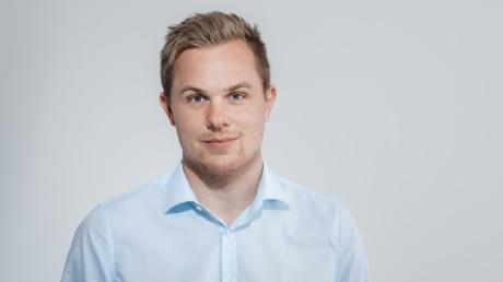 Matthias Krause, Direktkandidat der Freien Demokratischen Partei für den Bundestag im Wahlkreis 253, Augsburg-Land.