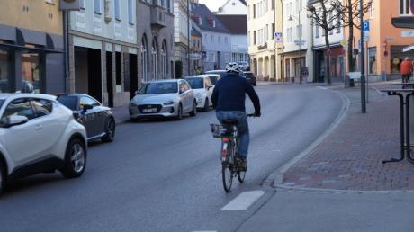 Für das Stadtradeln sollen möglichst viele Meringer vom Auto aufs Fahrrad umsteigen.