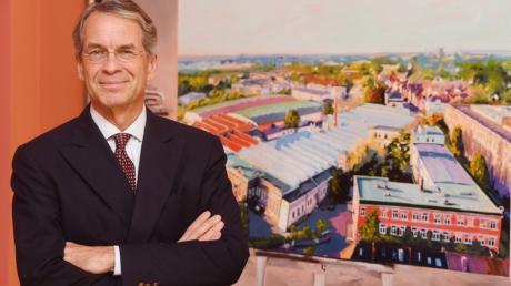 Christian Dierig war 35 Jahre lang Chef des Augsburger Textilunternehmens, Dierig Holding AG. Jetzt zieht er sich zurück und wechselt in den Aufsichtsrat.