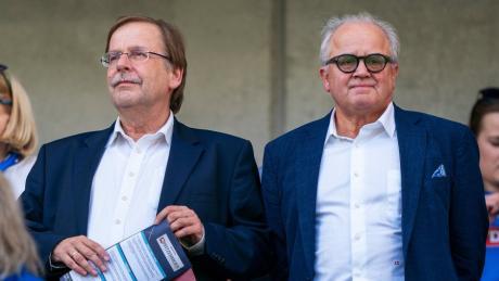 Rainer Koch (links) vertritt im Verband die Belange der Amateure. Er selbst hat sich zum Berufs-Funktionär entwickelt. Fritz Keller ist dem Mann aus Bayern gegenüber skeptisch eingestellt.