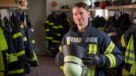 Helfen und Gemeinschaft erleben zu können, das motiviert Feuerwehrmann Andreas Baur von der Freiwilligen Feuerwehr Dettenhofen stets aufs Neue.