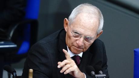 Wolfgang Schäuble ist als gewiefter Taktiker bekannt. Ohne ihn geht nichts in der Union.