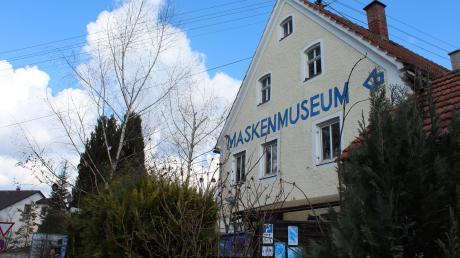Im Herzen von Diedorf ist das Maskenmuseum im Haus der Kulturen untergebracht.