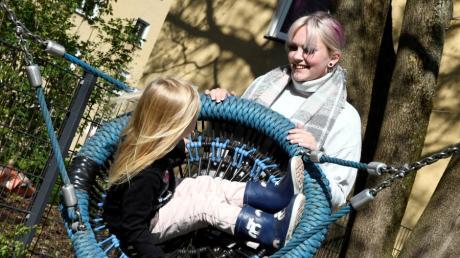 Kimberly B. war 14 Jahre alt, als sie ihre heute fünfjährige Tochter Mia zur Welt brachte. Der Muttertag ist für die beiden ein Tag der Freude.