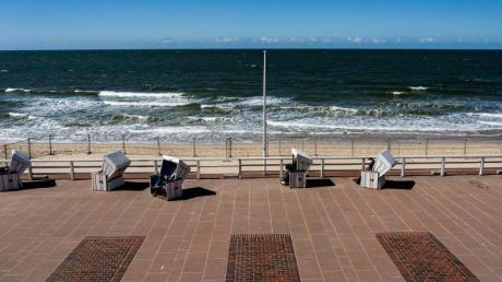 Strandkörbe auf Sylt: In den deutschenUrlaubsorten dürfte es im Sommer voll werden.