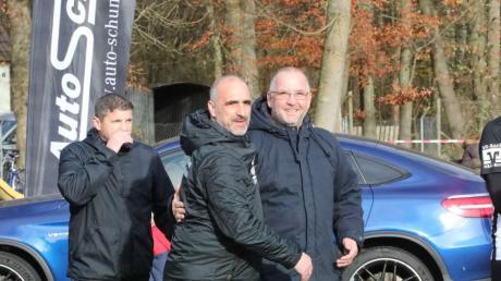 Während sich Klaus Assum (rechts) vom TSV Gersthofen über zwei Aufstiege freuen kann, hadert Torsten Vrazic vom TSV Meitingen mit der Quotientenregelung und der Aussetzung von Relegationsspielen bei einem Saisonabbruch.