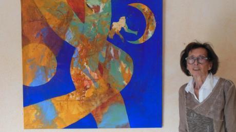 Die renommierte Künstlerin Barbara Dix, hier bei einer Ausstellung in Diedorf im Jahr 2016, ist tot.