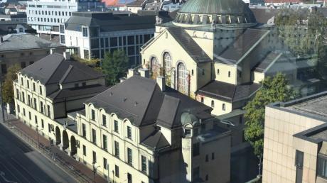 Die Augsburger Hauptsynagoge in der Halderstraße markiert das gewachsene Selbstbewusstsein der jüdischen Bürger in der Stadt.