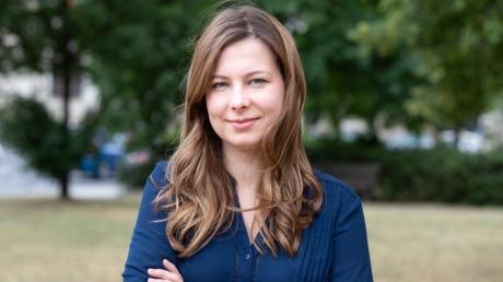 Jamila Schäfer, stellvertretende Bundesvorsitzende der Grünen.