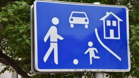 Verkehrsberuhigte Bereiche sollen unter anderem die Verkehrssicherheit erhöhen.