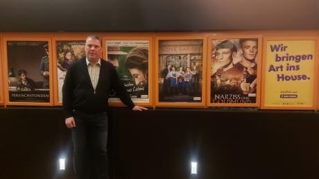Freut sich auf das Arthaus-Festival für Neuburg: Kinopalastbetreiber Roland Harsch.