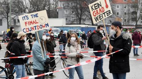 Zuletzt demonstrierte die Fridays-for-Future-Bewegung im März unter Corona-Regeln auf dem Plärrergelände.