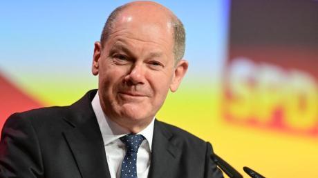 Beim SPD-Parteitag wurde Olaf Scholz von den 600 Delegierten alsKanzlerkandidat bestätigt.