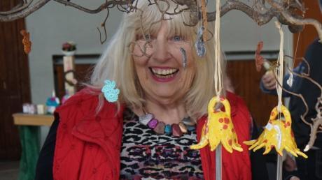 Starb Ende April: Die in Langerringen wohnende Künstlerin Inifrau von Rechenberg