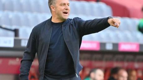 Gilt als aussichtsreichster Kandidat auf das Amt des Bundestrainers: Noch-Bayern-Coach Hansi Flick.