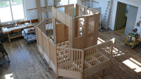 Bei der Orgelbaufirma Kuhn in Männedorf am Zürichsee entsteht die neuen Chororgel des Ulmer Münsters.