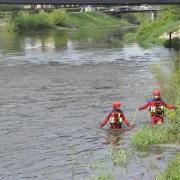 Einsatz angebliche verschwundener Angler in der Donau