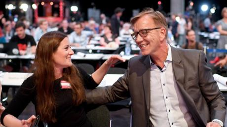Janine Wissler und Dietmar Bartsch sind die Spitzenkandidaten der Linken.