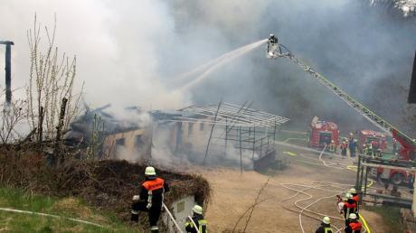 Rund 200 Rettungskräfte waren vor knapp zwei Wochen in Waldreichenbach im Einsatz.