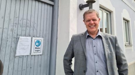 Bürgermeister Helmut Luichtl ist nun seit einem Jahr in Merching im Amt.