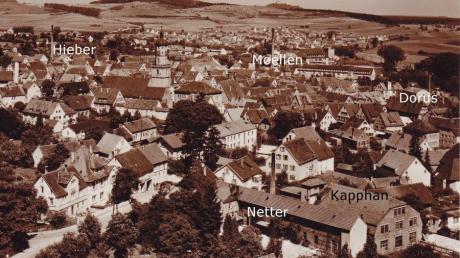Online-Vortrag Fabriken in Bopfingen - die Stadt der Leder, Leime, Seife, Tuche.