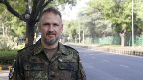 Stefan Utzmeir aus Unterschneitbach ist im Rahmen eines Bundeswehreinsatzes in Indien, um das Land bei der Bekämpfung der Corona-Pandemie zu unterstützen.
