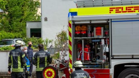 Die Feuerwehr hat einen Brand in Neu-Ulm schnell gelöscht.