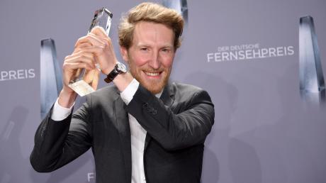 Louis Klamroth hat 2018 den Förderpreis des Deutschen Fernsehpreises gewonnen.