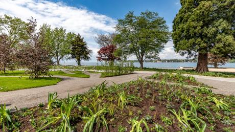 """""""130 Tage Gartenstrand – vom Berg zum See"""" lautet das Motto der Landesgartenschau in Lindau. Am Donnerstag wird die Veranstaltung eröffnet."""
