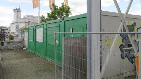 Die Container des Jugendtreffs in Thalfingen sollen erneuert werden.