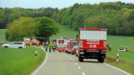 Ein schwerer Unfall hat sich am Montag bei Babenhausen ereignet.