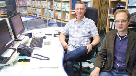 Im Rahmen einer Wirtschaftsgemeinschafts-Online-Mitgliederversammlung koordinierten Harald Rudloff (links) und Martin Jäger, auch die künftigen Veranstaltungstermine.
