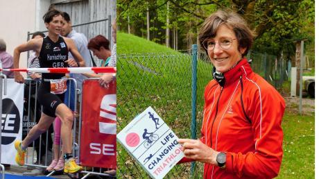 Die Weltmeisterin im Triathlon, Gabriela Harnischfeger, gibt in ihrem ersten Buch Tipps zu Ernährung, Training und gesundem Sport.