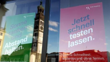 In Augsburg pendelt die Anzahl der Neuinfektionen mit dem Coronavirus weiterhin bei einer Inzidenz von um die 30.