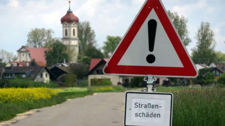 Der Zustand der Straße zwischen Straß und Steinheim ist für viele Bürger ein Ärgernis.