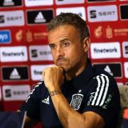 EM 2021: Spanien gegen Polen. Hier gibt es die Infos zur Übertragung im Free-TV und Stream. Im Bild: Spaniens Trainer Luis Enrique.