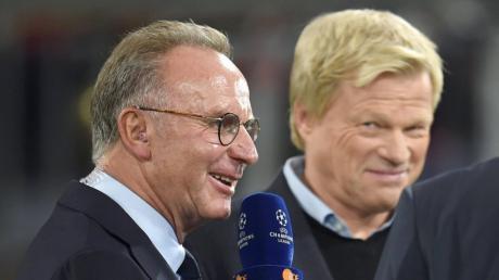 Karl-Heinz Rummenigge (links) geht, Oliver Kahn ersetzt ihn. Was wird das für ein FC Bayern sein unter seiner Führung?
