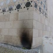 Mahnwache, Brandanschlag, Synagoge, Ulm
