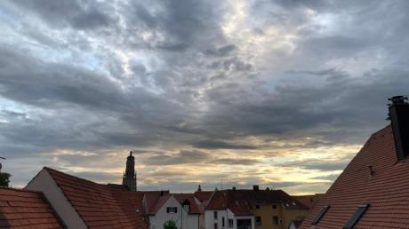 Wie wird das Wetter in diese Wochen in Nördlingen?