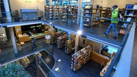 Weitere Lockerung: Nun ist auch das erste Obergeschoss der Stadtbibliothek Gersthofen wieder geöffnet.