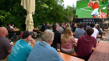 Bilder wie diese vom Public Viewing bei der Zill in Ulm zum WM-Finale 2014 wird es dieses Jahr nicht geben.