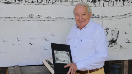 Pfarrer Karl B. Thoma konnte in Oxford eine Kopie des Thannhauser Machsors anfertigen lassen. Der Heimatverein hat daraus zwei Bücher binden lassen.