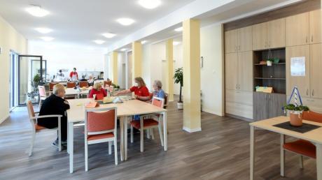 Ihren Betrieb aufgenommen hat die Johanniter Tagespflege Gersthofen im Quartier Römertor im Süden der Stadt.