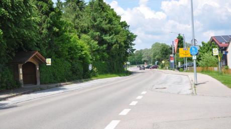 Die Bushaltestelle in Nattenhausen soll vorerst so belassen werden, wie sie ist.