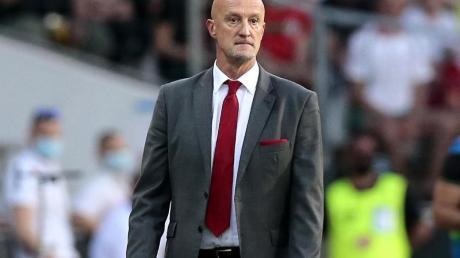 Bewunder Joachim Löw: Marco Rossi, Trainer von Ungarn.